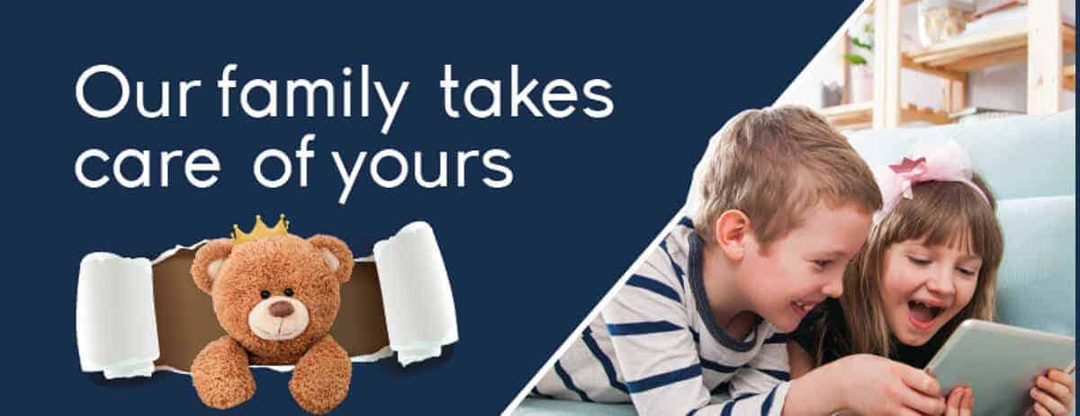 Our family takes care of your family