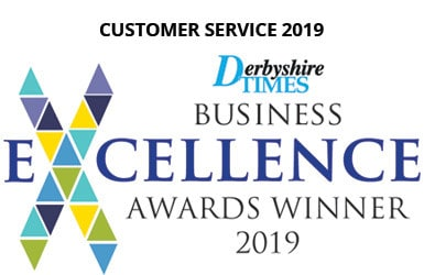Derbyshire Times Business Excellence Awards Winner 2019