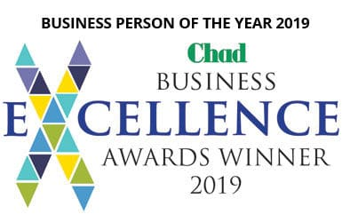 Chad Business Person of the Year Awards Winner 2019